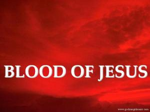 cleansed by the blood of Jesus Christ