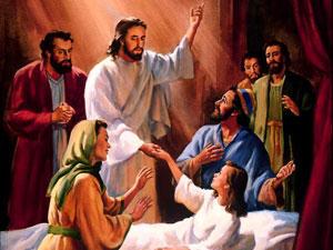 Jesus always heals and saves!