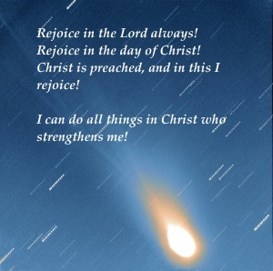 rejoice in the day of Christ