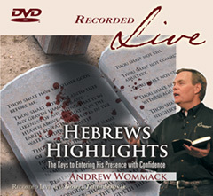 dvd teaching on Hebrews highlights