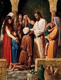 Jesus heals blind man on Sabbath
