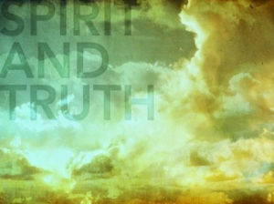 worship in spiritandtruth