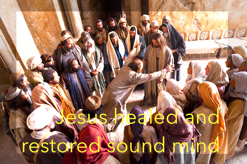 jesus healed the mind