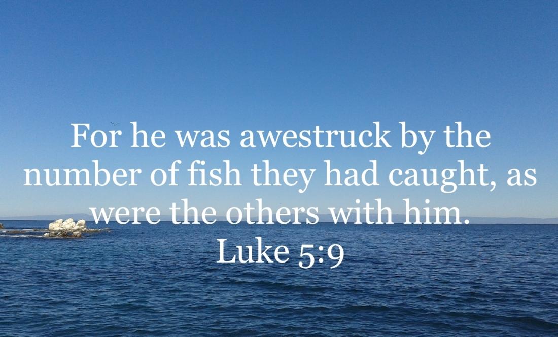 Luke 5:9